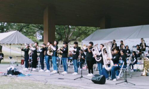 吉野地区小学校合同コンサートの様子