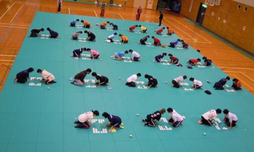 第40回全国競技かるた鹿児島大会の様子