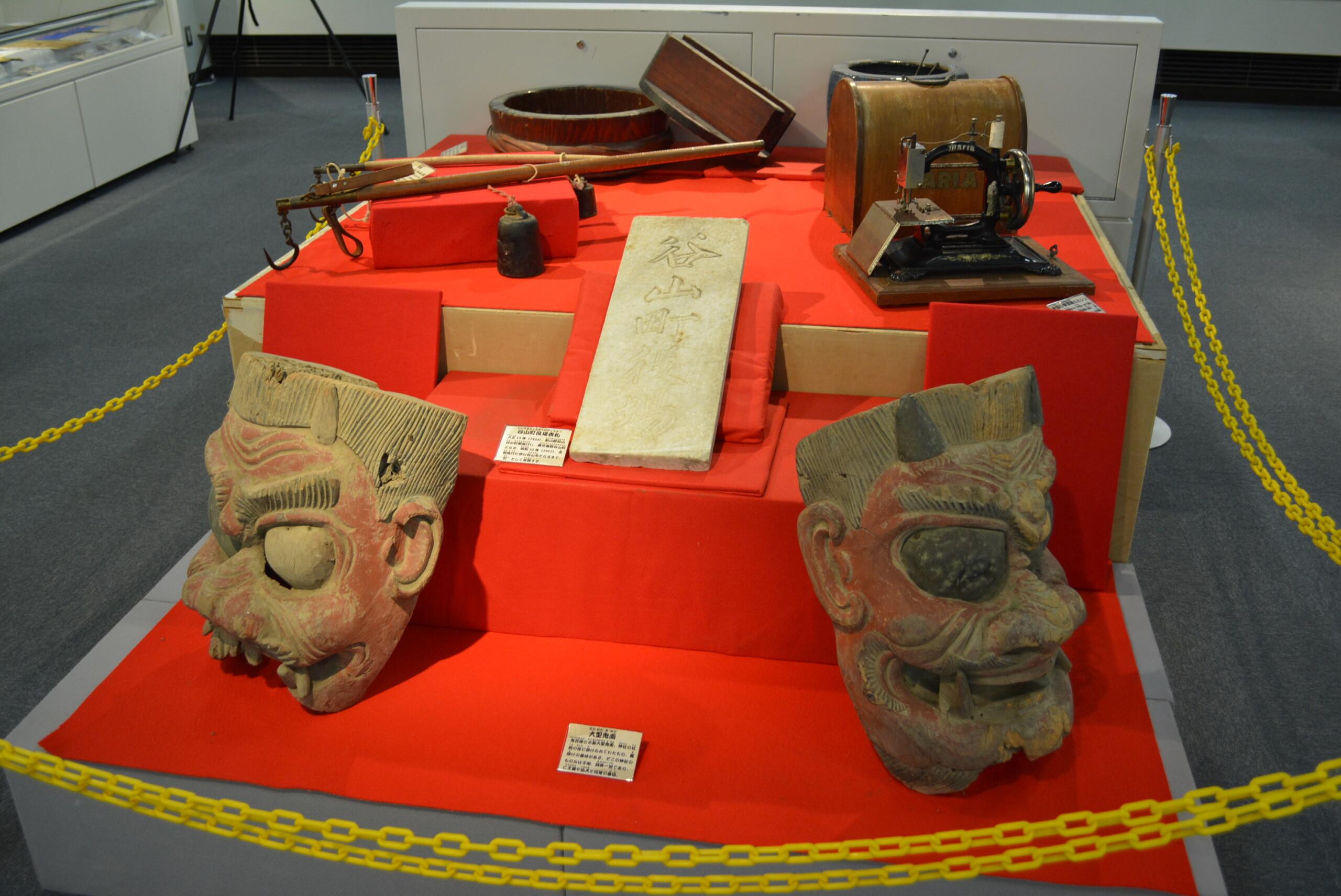 ふるさと考古歴史館で開催「蔵出し収蔵品展」