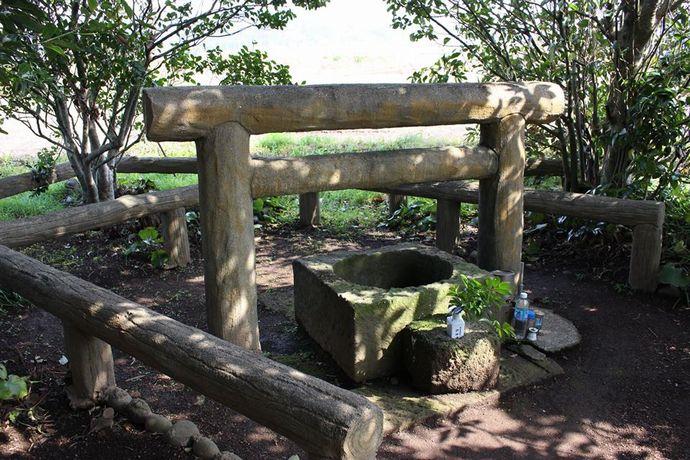 指宿市、日本最古の井戸と呼ばれる「玉乃井」