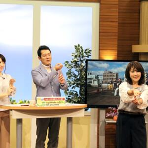 テレビでお披露目「ぽぽダンス」