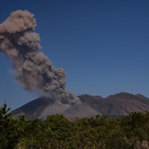 桜島噴火の様子