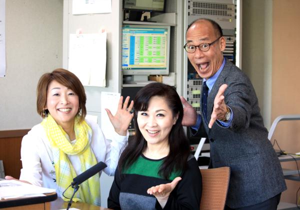 暖かくて「ひったまがった~!」春と一緒に島津悦子さんがスタジオにやってきた!