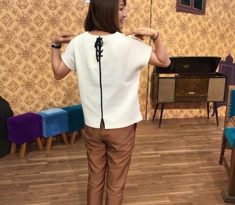 バックスタイルで魅せる♡カジュアルセクシー♡